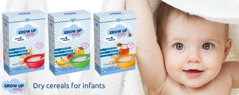 Grow Up baby, infant nutrition