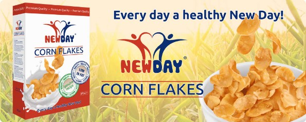 New Day, corn flakes